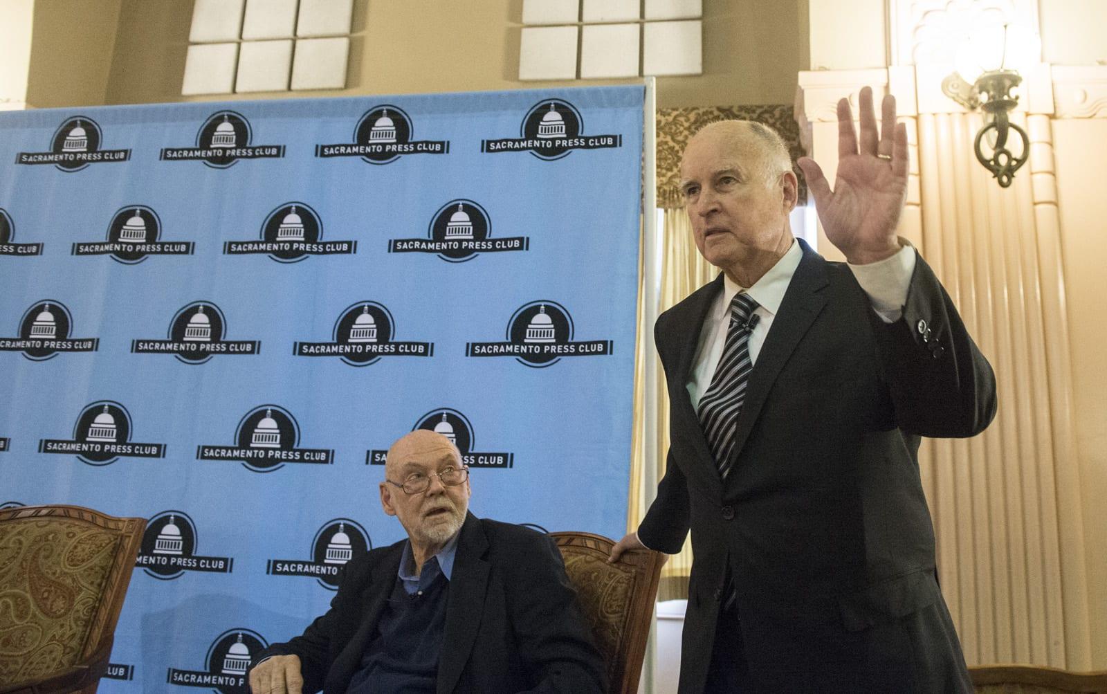 b568ff29308 Governor Brown to Speak at Sacramento Press Club Event Tomorrow
